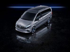 Первый электрический минивэн Mercedes EQV сможет проезжать до 400 км на одном заряде