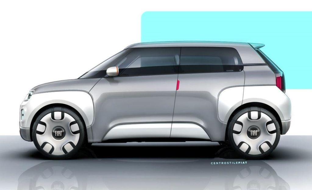 120 сменных деталей: Fiat представил концепт электромобиля-конструктора
