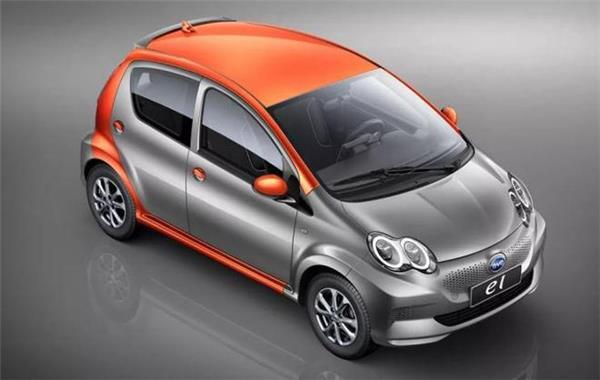 Электромобиль BYD e1: Китайцы представили электрическую копию Toyota Aygo