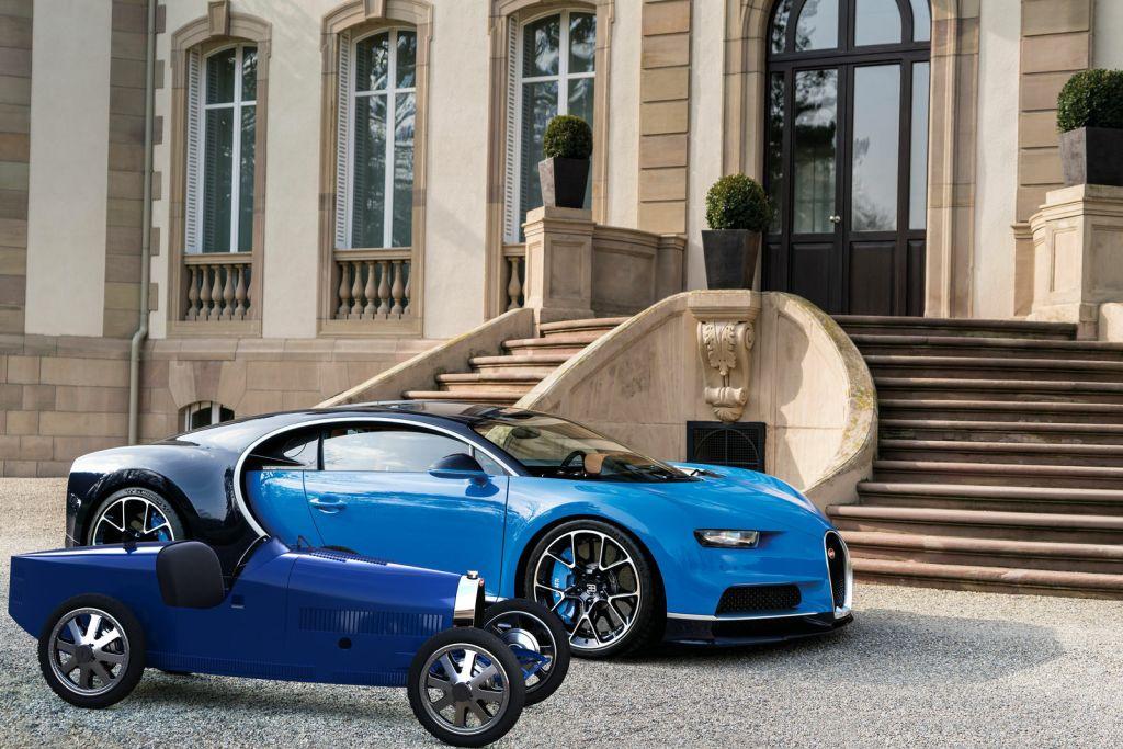 Bugatti выпустила детский автомобиль с недетскими характеристиками. И ценой