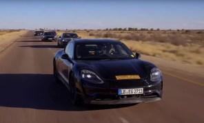 Тесты Porsche Taycan вышли на финишную прямую: электромобили преодолели 6 млн км