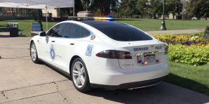 Полиция конфисковала электромобиль у наркокартеля. Теперь на Tesla ездит патруль
