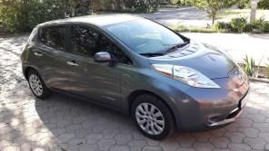 В Киеве снова угнали электромобиль Nissan Leaf