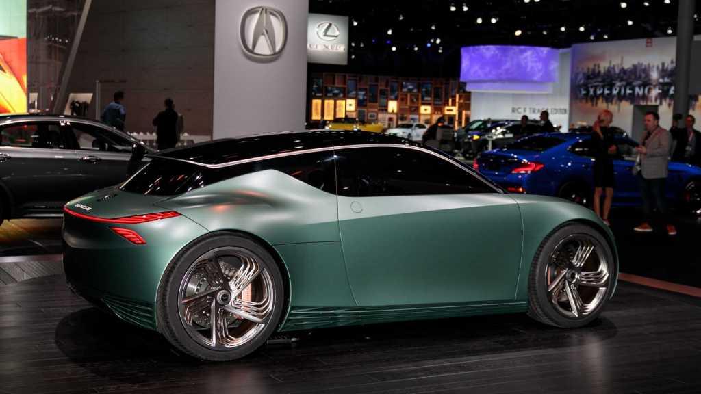 Genesis Mint Concept: Hyundai представили роскошный городской электромобиль