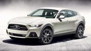 Электрический Ford Mustang: в сети появились первые рендеры