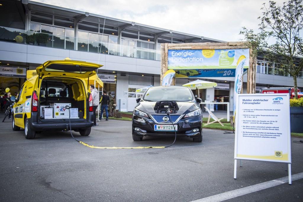 В Австрии предложили новую услугу - powerbank для электромобилей