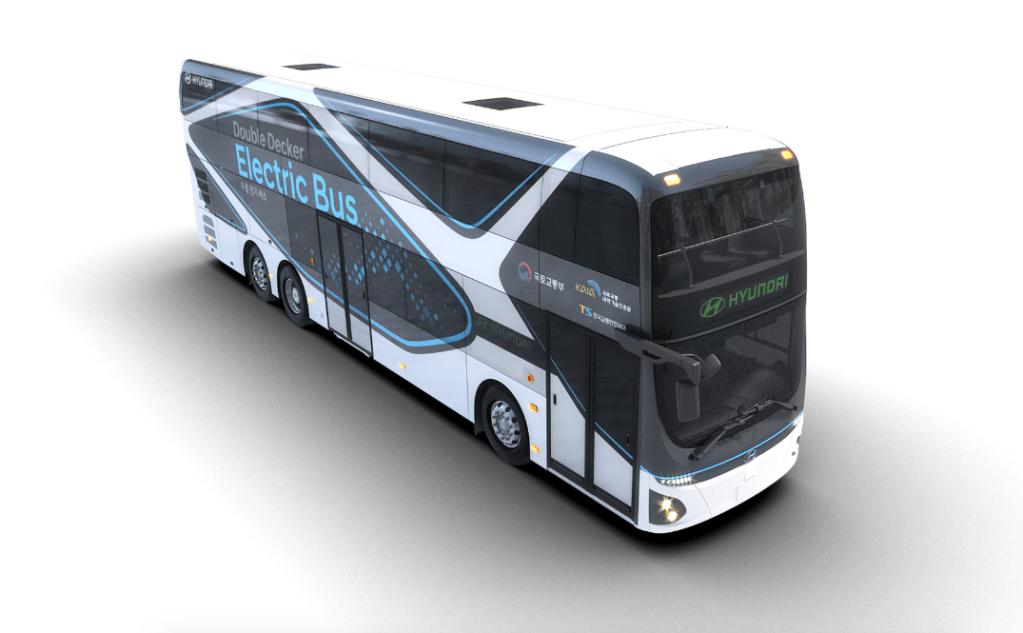 Hyundai показал, каким может быть электрический автобус на два этажа