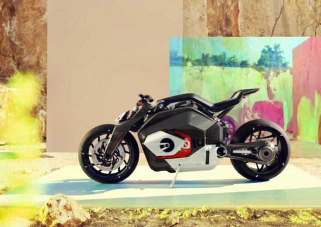 Электрический мотоцикл BMW Motorrad Vision DC Roadster представлен официально