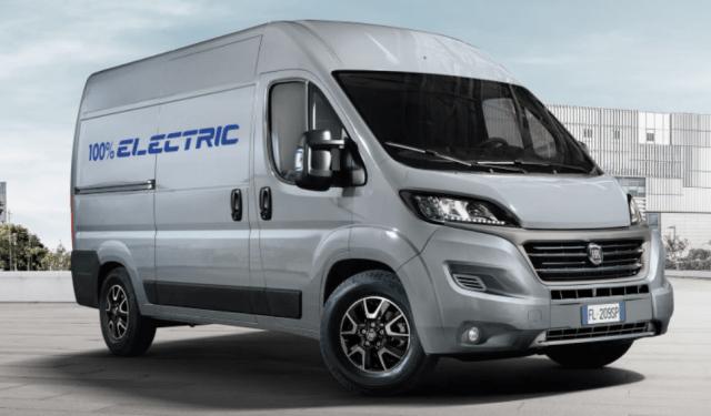Фургон Fiat Ducato переведут на электротягу уже в 2020 году