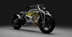 Батареи, как V8: оригинальный электробайк Curtiss Motorcycles оценили в $75 000