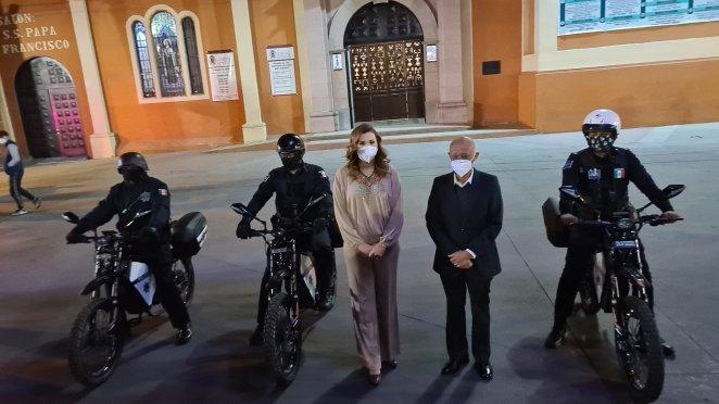 Українські електробайки Delfast прийняті на службу до поліції Мексики