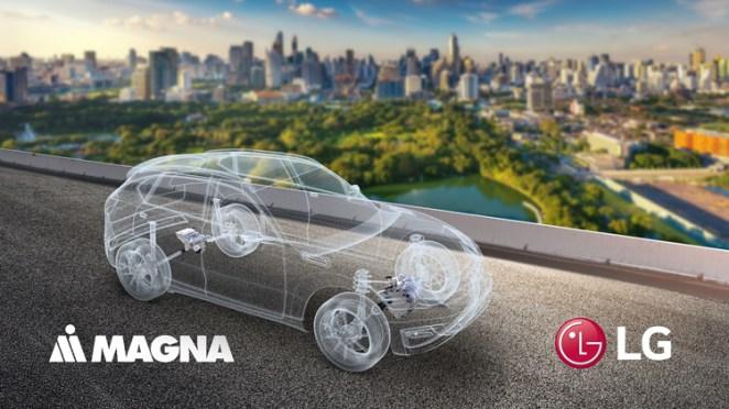 Компанії Magna та LG створили нового виробника компонентів для електромобілів