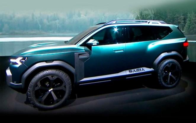 Семимісний салон і гібридна силова установка: Dacia презентувала новий кросовер