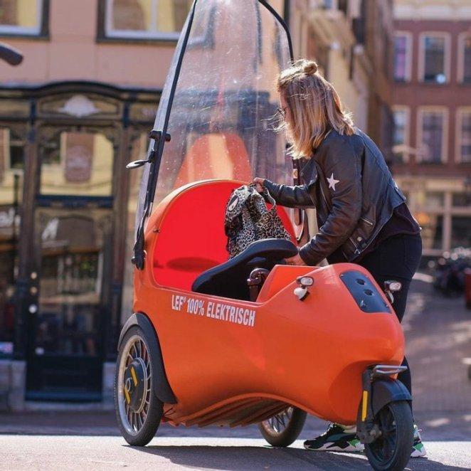 Більше, ніж електровелосипед, менше ніж автомобіль: нідерландський електромобіль за 5300 доларів