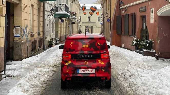 Dartz Motors випустили найдешевший електромобіль у Європі – від €9 999
