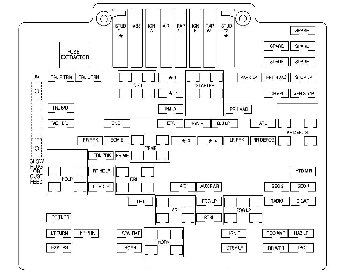Gmc W4500 Blower Wiring Diagram