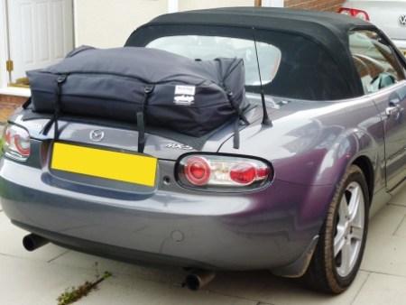 Boot-bag Vacation Mazda MX5 NC Gepäckträger