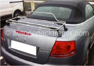 Audi A4 Carbio Gepackträger Edelstahl modell