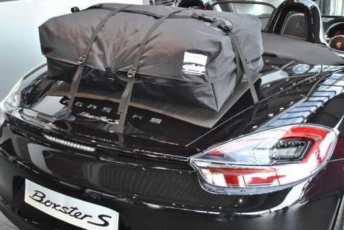 Porsche Boxster Gepäckträger boot-bag - Urlaub.