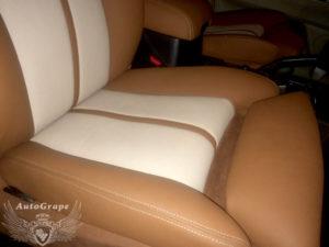 Замена передних сидений на комфортные от bmw