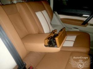 Перетяжка кожей салона Mitsubishi