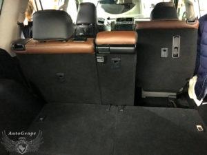3 ряд сидений Prado 150