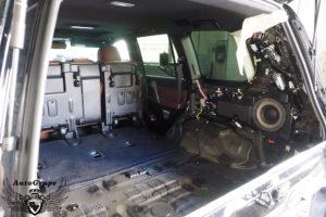 Дооборудование тойота 3-м рядом