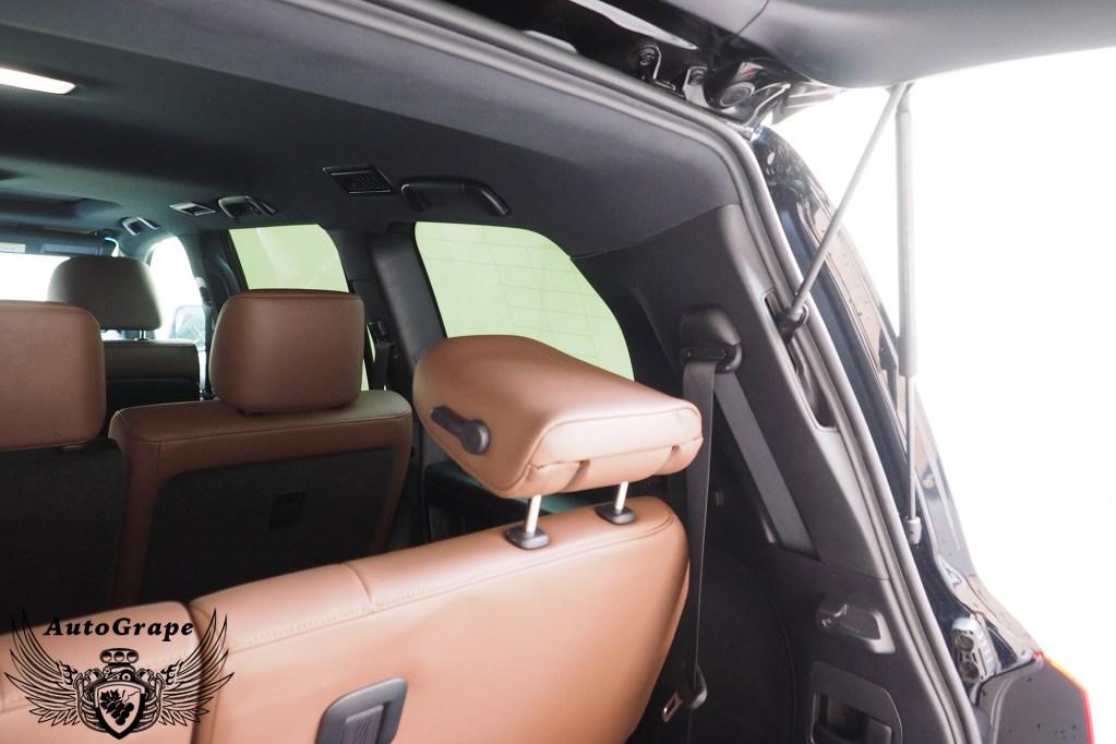 Установка 3-го ряда сидений LC200