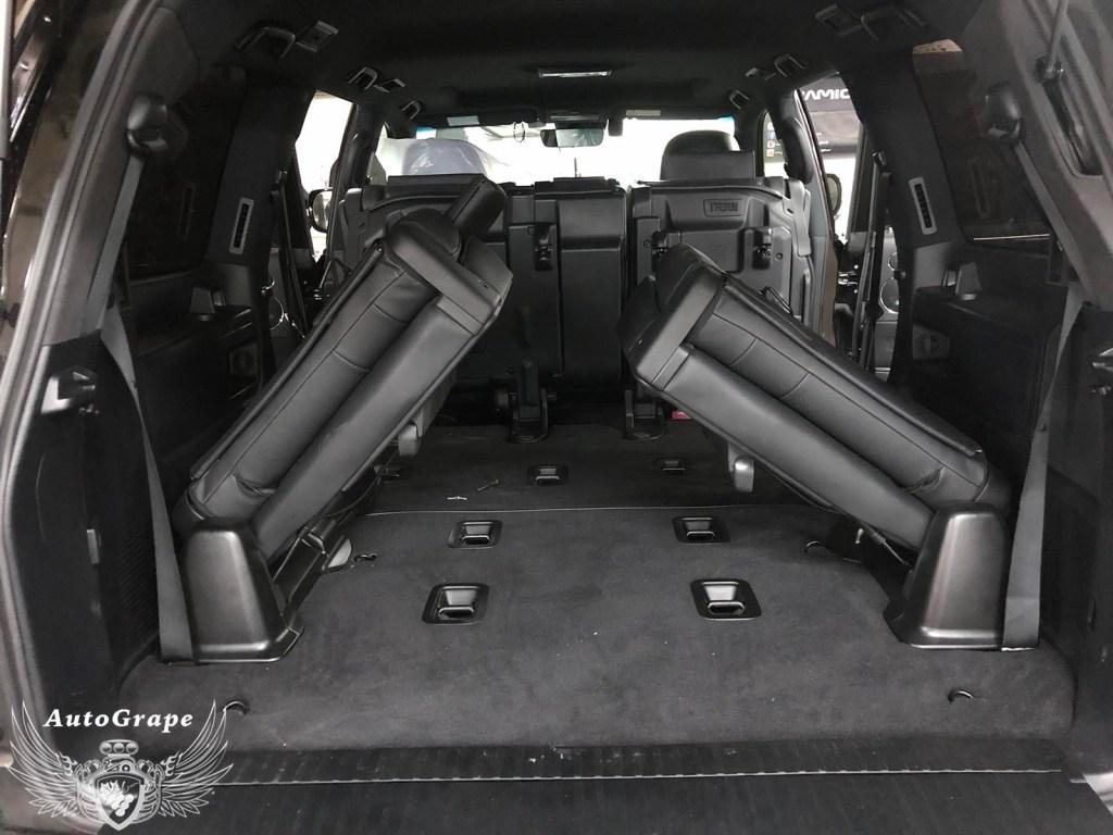 Установка третьего ряда сидений Lexus