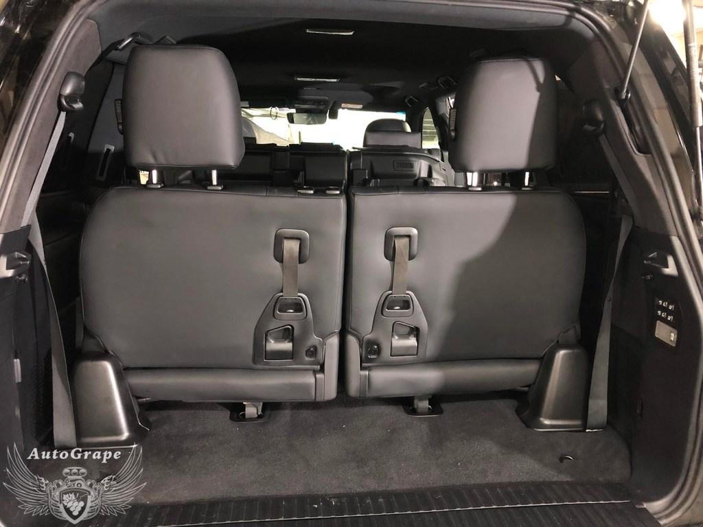 Установка третьего ряда сидений Lexus LX