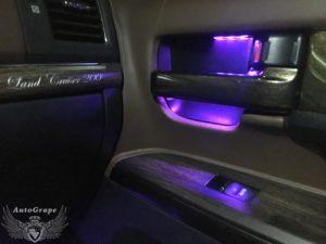 Подсветка дверей Тойота Крузер 200