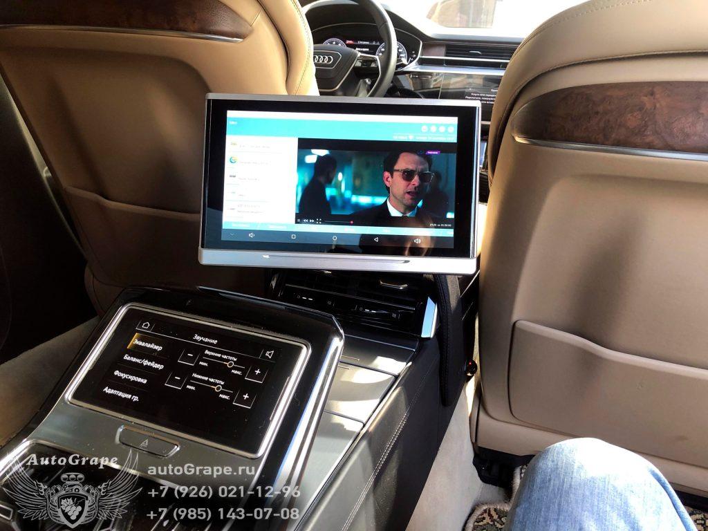 монитор для задних пассажиров