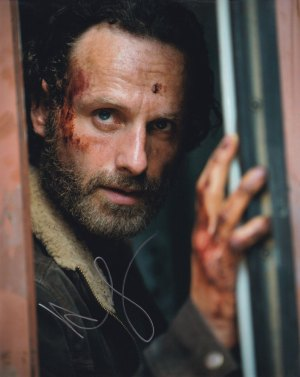 Andrew Lincoln in-person autographed photo