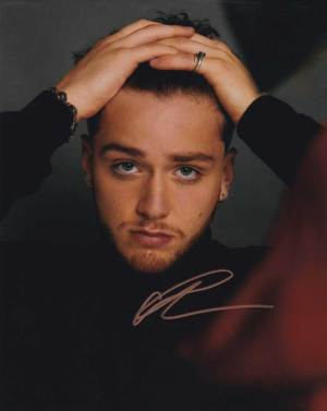Bazzi in-person autographed photo