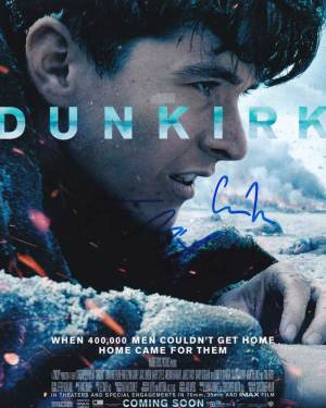 Dunkirk In-person autographed Cast Photo
