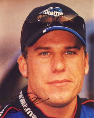 Jamie McMurray in-person autographed photo