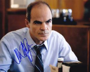 Michael Kelly in-person autographed photo