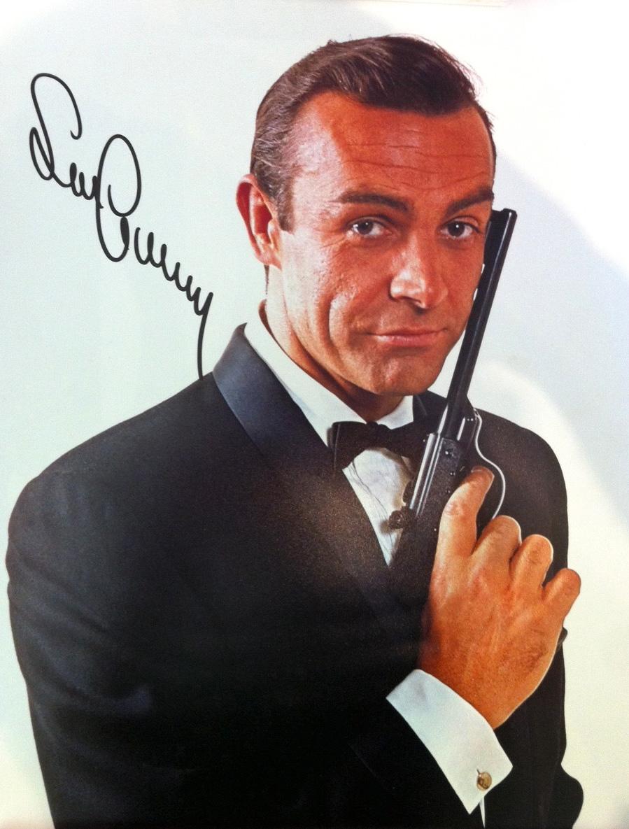 Sean Connery Autographs Robert Saunders