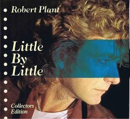 Robert Plant of Led Zeppelin autograph Little By Little Lp