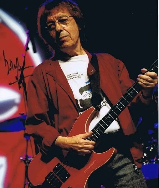 Bill Wyman Autograph colour photo The Rolling Stones