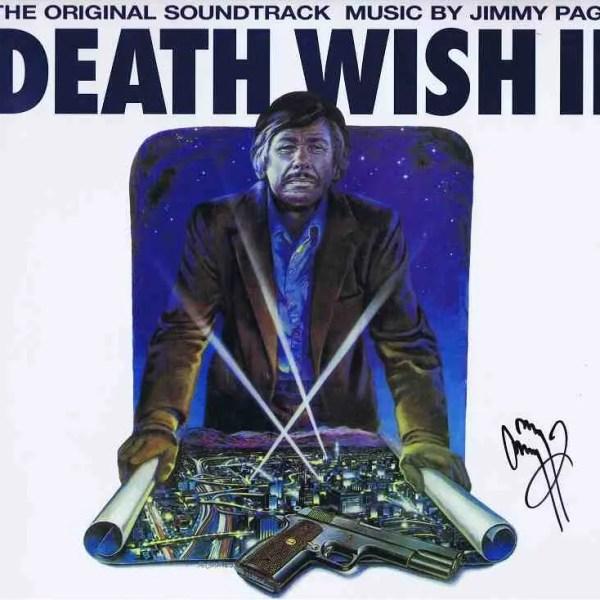 Jimmy Page Autograph Death Wish Led Zeppelin