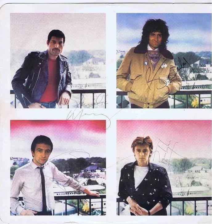 Queen Autographs For Sale Freddie Mercury Autographsale