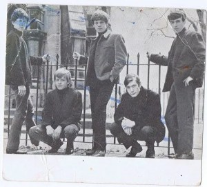The Rolling Stones signed photo card autographed