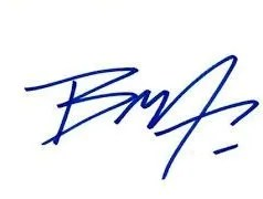 fake brandon lee autograph