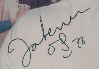 John Lennon photograph autograph 1978