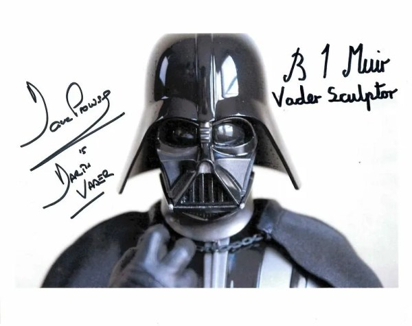 Dave Prowse and Brian Muir Autograph Darth Vader Star Wars photograph 8×10 [1]