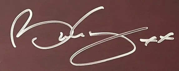 Brian May Autographs Queen guitar