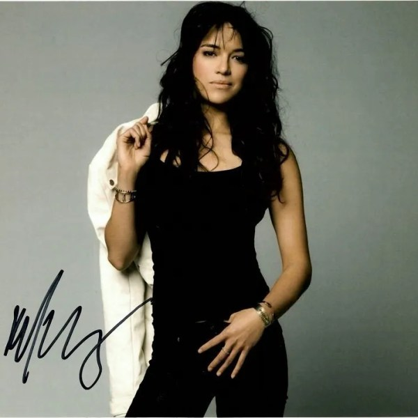Michelle Rodriguez Autograph for Sale | Fast and Furious