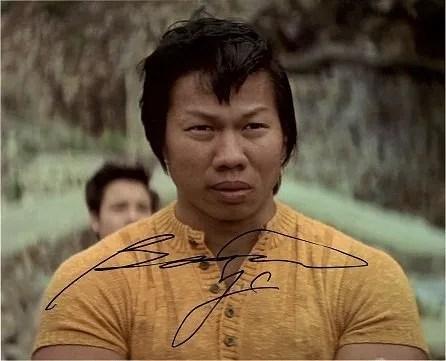 Bolo Yeung enter the dragon autographs 1