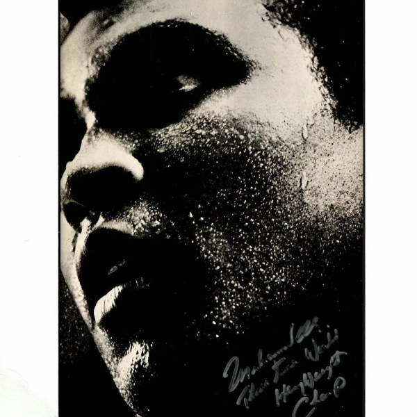 Muhammad Ali autograph for sale photo | three times world champ